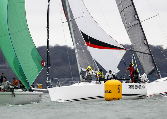 J/109 sailing RORC Easter Challenge