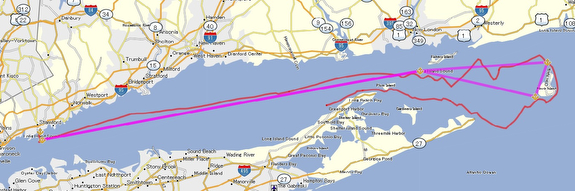 Block Island race course