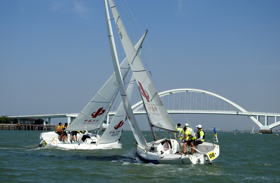 J/80 China Cup off Xiamen