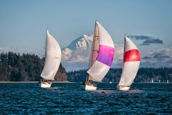 J/35 sailing Puget Sound