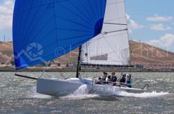 J/70 sailing Delta Ditch run