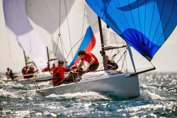 J/70 sailing Coppa Italia in Scarlino, Italy