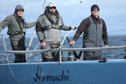 J/125 Hamachi crew