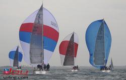 J/120s sailing Long Beach