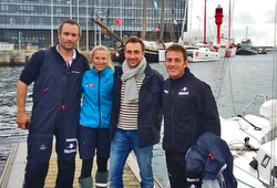 J/80 France- Transat Jacques Fabre sailors