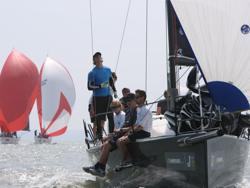 J/111 sailing JCup UK