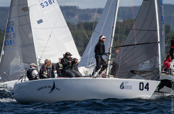 J/24 Sailors for the Sea- Mike Ingham at Europeans