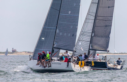J/111s sailing Block Island Race Week