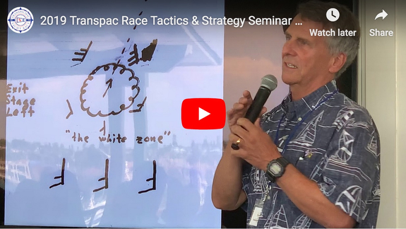Stan Honey Transpac Race tactics and strategy