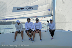New York YC J/105 crew at Lipton Cup in San Diego