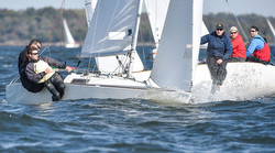 J/22s sailing Chesapeake Bay