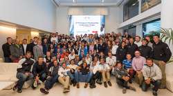 J/70 Europeans sailing teams at YC Monaco