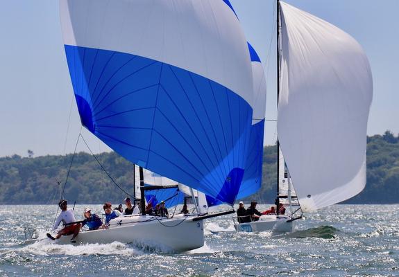 J/70s sailing England