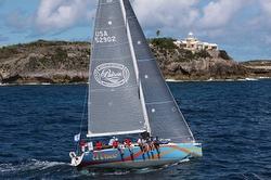 J/122 sailing off St Maarten Heineken regatta