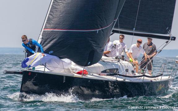 J/111 sailing Block Island Race Week