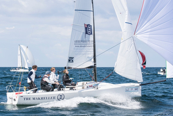 J/70 Deutsche Segel-bundesliga- The Markeller team