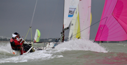 J/70 sailing La Rochelle, France