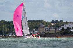J/109 sailing Cowes Week