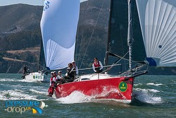 J/111 BIG BLAST sailing Rolex Big Boat Series- San Francisco