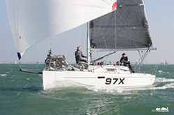 J/97E sailing Hamble winter series