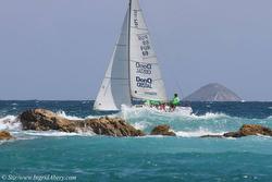 J/24s sailing Caribbean