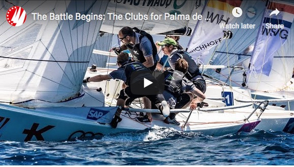 J/70s sailing Palma Sailing Champions League qualifier