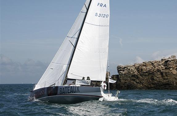 J/99 Grassi Bateaux sailing off France