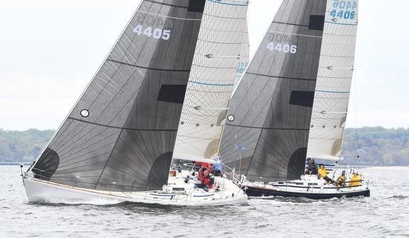 J/44s sailing on Long Island Sound