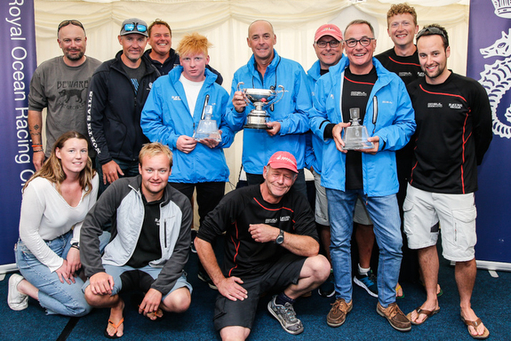 J/122 Black Dog- UK IRC National Champions