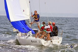 J/80 sailing Buzzards Bay