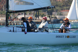 J/70 sailing San Diego Hot Rum series