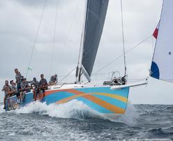 J122 sailing Caribbean