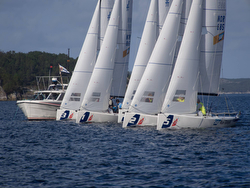 Norway J/70 Sailing League action
