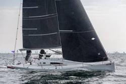 J/11S shorthanded custom sailing SPI Ouest