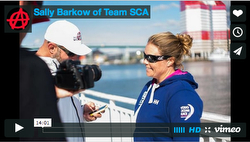 Sally Barkow- Team SCA- Volvo Ocean Race interview