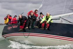 J/109 sailing Solent series