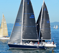J/46 sailing Swiftsure race