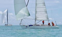 J/41 Souay1 sailing Samui Regatta off Thailand