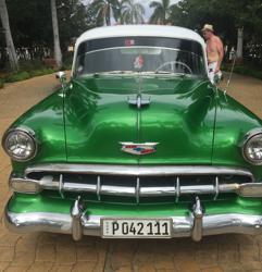 Havana, Cuba chevy taxi