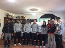 J/24 Italy winning sailing team