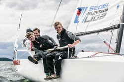 J/70 youth sailors - Sailing in Germany
