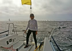 Doc passing Anacapa Island