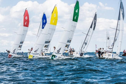 J/70s sailing the SAILING Champions League