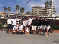 Winning J/80 teams at Italian Nationals