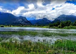 Lake Dillon reservoir in Colorado