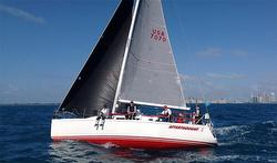 J/109 sailing Miami Havana Cuba Race