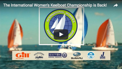 J/70 women's keelboat sailing video