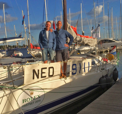 J/111 Xcentric Ripper- The Netherlands team in Rolex Fastnet Race