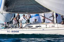 J/120 CC Rider- Chuck Nichols- sailing Hot Rum series