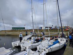 New York YC Wins J/80 Team Race in England